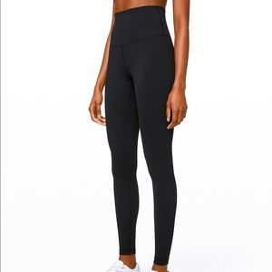 brand new! Lululemon black leggings size: 4